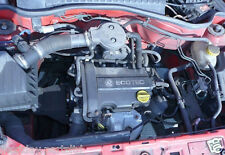VAUXHALL CORSA 1.0L 01-04 COMPLETE ENGINE CODE Z10XE DONE 69K