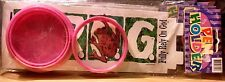 F.R.O.G. Pink Pen / Pencil White Holder  Boys & Girls 3 yrs + 1ct. New Sealed