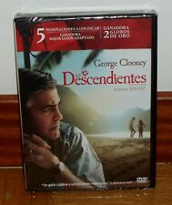 LOS DESCENDIENTES-THE DESCENDANTS-DVD-NUEVO-PRECINTADO-NEW SEALED-COMEDIA-DRAMA