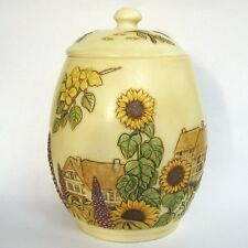 English Garden -  Jardinia - NIB - Cottage Trinket Pot - Martin Perry Studios