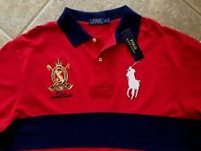 Polo Ralph Lauren Polo Summer Classic Mesh Shirt XLT Red w/Big Pony $125 NWT
