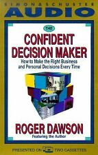 Roger Dawson - The Confident Decision Maker - Book on 2 Tapes
