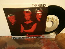 """the police""""wrapped around your finger""""single7""""or.hol.am:9299+encart juke-box"""