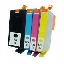 4 Chipped Ink Cartridge for HP 920 XL Officejet 6000 6500 6500A 7000 7500A E609