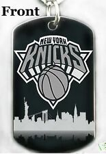 NY KNICKS - Dog tag Necklace or Key chain + FREE ENGRAVING