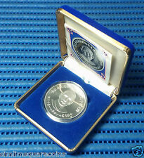 1985 China-Taiwan 120th Birthday of Sun Yat-Sen Commemorative Silver Proof Coin