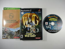 ¤ Wallace and Gromit Curse of the Were Rabbit ¤ Complete Good! PlayStation 2 PS2