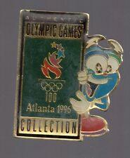 1996 Atlanta Olympic Pin Authentic Games Collection Izzy Large