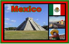 MEXICO - SOUVENIR NEUHEIT KÜHLSCHRANK-MAGNET - BRANDNEU - GESCHENK