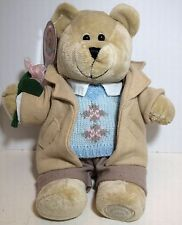 Starbucks Bearista Collectible Plush - Bear with Sweater Jacket and Flower