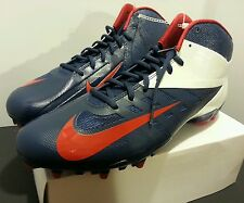 Nike Vapor Pro TD 3/4 Mid Football Cleats 543924 461 Size 14 Red/White/Blue