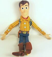 "Toy Story Dolls Woody 12"" Talking Pull Accessories Disney Pixar"
