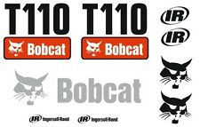 (ORIGINAL LOOK) BOBCAT T110 FULL DECAL STICKER SET KIT SKID STEER NP9