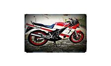 1990 rd350 ypvs f2 Bike Motorcycle A4 Photo Poster