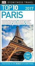 Paris 2017 Travel Guide & Map (TOP 10 By Eyewitness) NEW BOOK Paperback