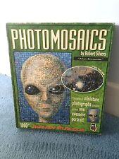 ALIEN incontrano UFO 1000 PEZZI photomosaic Puzzle-COMPLETO