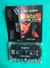 ►►rare Polish cassette DR. ALBAN One Love songs It's my life mc Poland