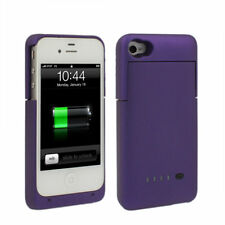 suitable for Apple iPhone 4 & 4S,external Backup battery, Battery Case Purple