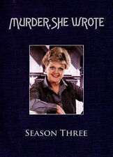 MURDER SHE WROTE ...complete SEASON 3 ( 3 discs ).... SUMMER BARGAIN clean dvds