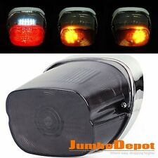 For Harley XL Dyna Road King Touring Integrated Smoke LED TailLight Turn Signals