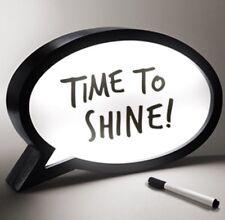Nuevo LED Luz discurso Burbuja Caja escribir su propio mensaje Signo Fiesta Decoración del hogar
