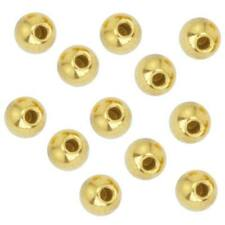 Beadalon Gold Plated Memory Wire End Cap 3mm (12 Beads)