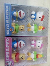Imported 3D character Fancy Erasers Set For Children