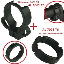 All Aluminum Castle Nut and Single Point End Plate Dual Loop Sling Adapter Combo