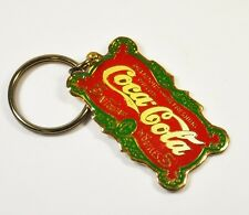 Coca-Cola Coke Metall Schlüsselanhänger Key Chain Delicious and Refreshing