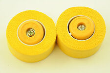 VINTAGE CAT-EYE CLOTH HANDLEBAR TAPE MADE IN JAPAN 1960's 1970's EROICA YELLOW