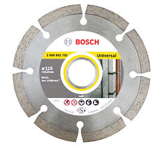 "Bosch 115mm 4.5"" Professional Universal Angle Grinder Diamond Blade Cutting Disc"