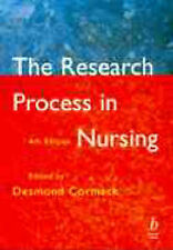 The Research Process in Nursing: Fourth Edition Paperback Book