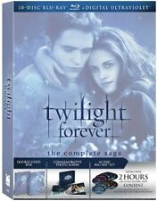 Twilight Forever: The Complete Saga Box Set [Blu-ray], New, Free Shipping