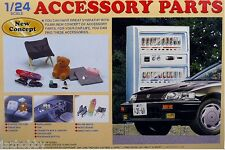 Fujimi 11041 GT-6 1/24 Scale Garage & Tool Series Car Accessory Parts Set