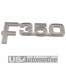 FORD f350 AILE AVANT / Fender decal / badge 1982 83 84 85 86 e2tz-16720-e