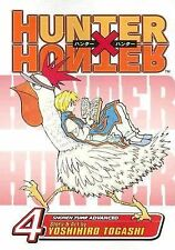 Hunter X Hunter 4 by Gary Leach and Yoshihiro Togashi (2005, Paperback)
