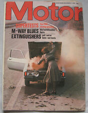 Motor magazine 27/12/1975 featuring Panther Rio Especial road test