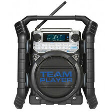 Baustellenradio DAB+ UKW, RDS Teamplayer Bluetooth Radio Digitalradio Perfektpro