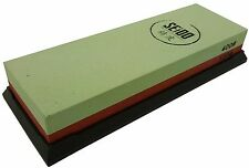 Seido 120/400 Grit Combination Whetstone Knife Sharpening Stone /Knife Sharpener