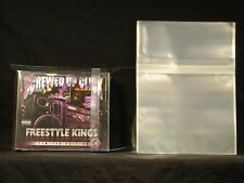 Double Wide CD Resealable Old Style 2CD Jewel Case Side Japan SoundSourceCDs 50