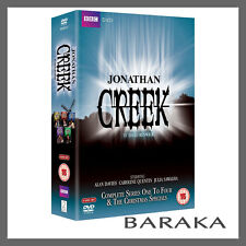 Jonathan Creek Complete Series 1, 2, 3 & 4 & The Christmas Specials DVD Box Set