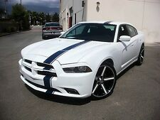 Dodge Charger Mopar 11 Racing Stripes Decals Trunk Hood Graphics 2011-2014 11-14
