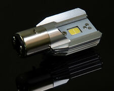 DC 12V-80V 12w White COB LED Motorcycle Hi/Lo Beam Headlight Light Bulb BA20D