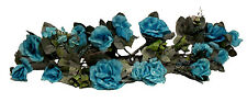 TURQUOISE TEAL  BLUE ~ SWAG ~ Silk Wedding Flowers Arch Gazebo Decor Centerpiece