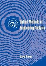 Optical Methods of Engineering Analysis by Gary L. Cloud (1998, Paperback,...