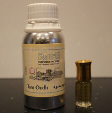 3ml SURRATI Tom Oudh Mens Perfume Oil Fragrance Attar Itr Of Ford Ittar Oud Wood