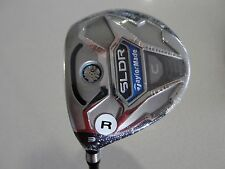 NEW LH TAYLORMADE SLDR C 15* 3 FAIRWAY WOOD SLDR 57 REGULAR WITH HEAD COVER