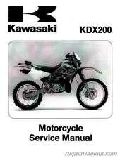 1995-2006 KDX200 KDX220 Kawasaki Motorcycle Service Manual : 99924-1181-10