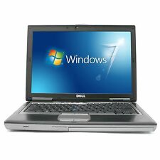 DELL D620 LAPTOP COMPUTER WINDOWS 7 PRO CORE 2 DUO 3GB RAM DVDRW WIFI  INTERNET