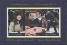 PRINCE WILLIAM ET KATE MIDDLETON Cook 1 bloc de 2010